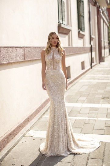 Showstopping Dazzling WONA Bridal Wedding Dresses – Aurora – Melissa