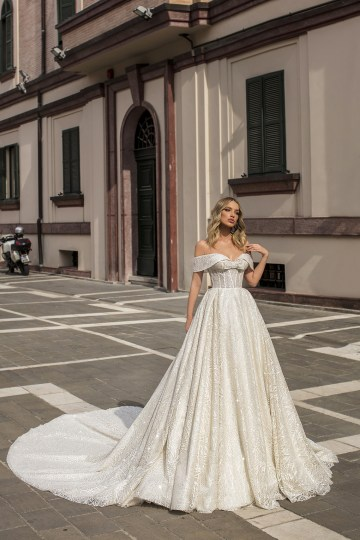 Showstopping Dazzling WONA Bridal Wedding Dresses – Aurora – Monica