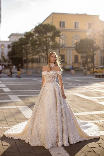 Showstopping Dazzling WONA Bridal Wedding Dresses – Aurora – Unicue