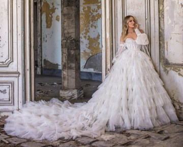 Showstopping Dazzling WONA Bridal Wedding Dresses – Aurora – Victory Cover