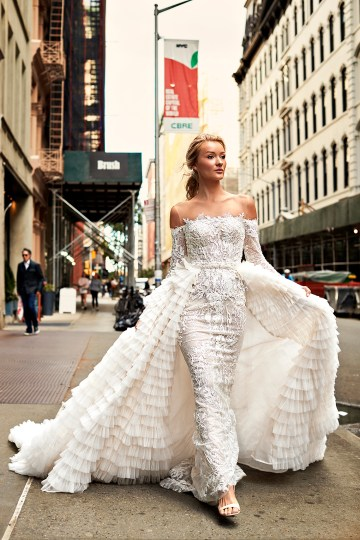 Showstopping Dazzling WONA Bridal Wedding Dresses – NYC Photos 4