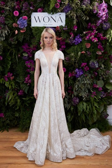 Showstopping Dazzling WONA Bridal Wedding Dresses – NYC Showroom 1