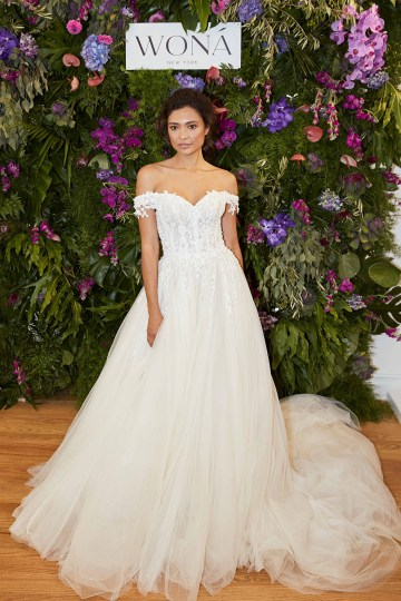 Showstopping Dazzling WONA Bridal Wedding Dresses – NYC Showroom 11