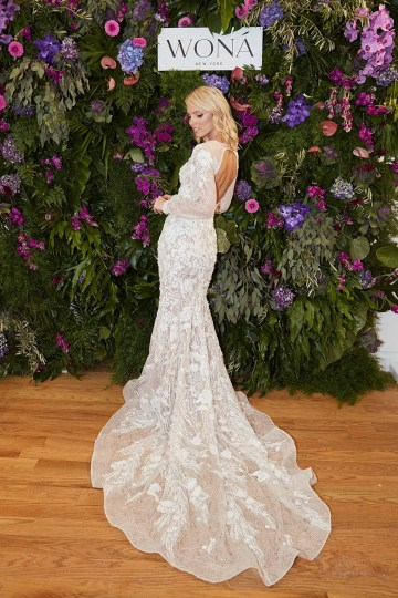 Showstopping Dazzling WONA Bridal Wedding Dresses – NYC Showroom 9