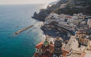 A Breathtaking Traditional Amalfi Coast Wedding