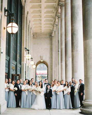 Gorgeous Green and Pink Chicago Ballroom Wedding – Clary Pfeiffer Photography – LOLA Event Productions 16