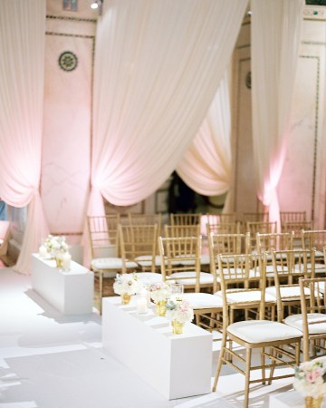Gorgeous Green and Pink Chicago Ballroom Wedding – Clary Pfeiffer Photography – LOLA Event Productions 27