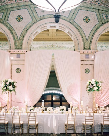 Gorgeous Green and Pink Chicago Ballroom Wedding – Clary Pfeiffer Photography – LOLA Event Productions 30