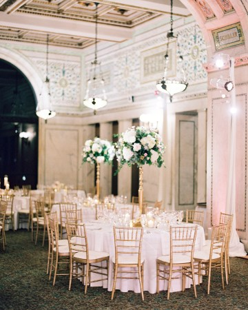 Gorgeous Green and Pink Chicago Ballroom Wedding – Clary Pfeiffer Photography – LOLA Event Productions 31
