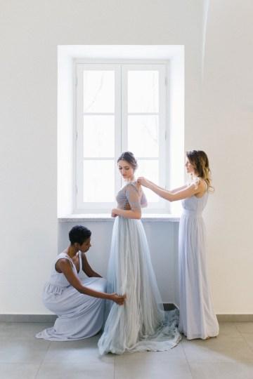 Gorgeous Winter Blue Wedding Inspiration – Irene Fucci 11