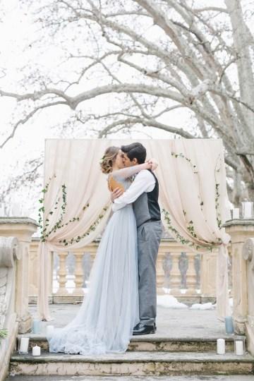Gorgeous Winter Blue Wedding Inspiration – Irene Fucci 15