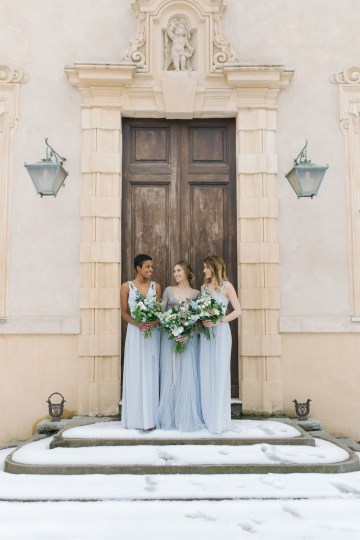 Gorgeous Winter Blue Wedding Inspiration – Irene Fucci 19
