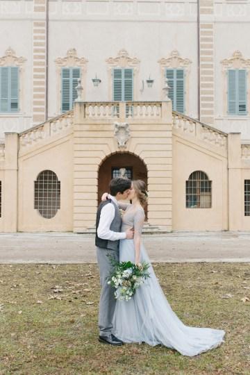 Gorgeous Winter Blue Wedding Inspiration – Irene Fucci 40