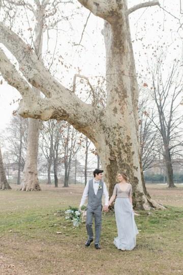 Gorgeous Winter Blue Wedding Inspiration – Irene Fucci 42