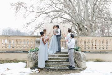 Gorgeous Winter Blue Wedding Inspiration – Irene Fucci 47