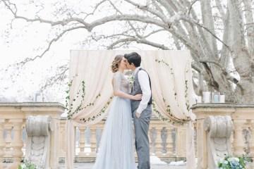 Gorgeous Winter Blue Wedding Inspiration – Irene Fucci 48