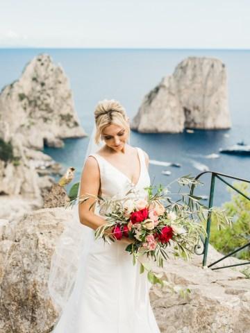 The Ultimate Mediterranean Capri Elopement – Rochelle Cheever 21