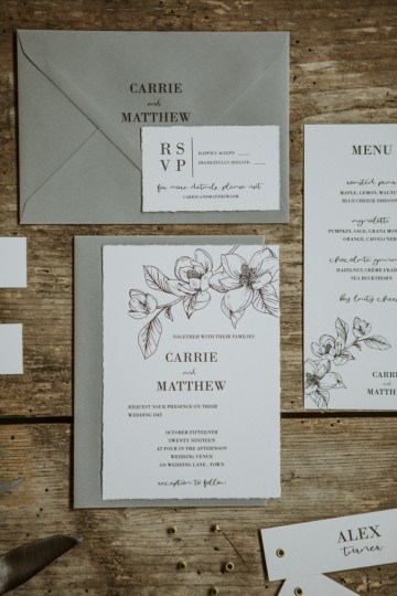White and Taupe Minimalistic Wedding Inspiration – Vanessa Illi 13