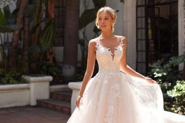 10 Gorgeous Ball Gown Wedding Dresses – Moonlight Bridal – J6704-F copy