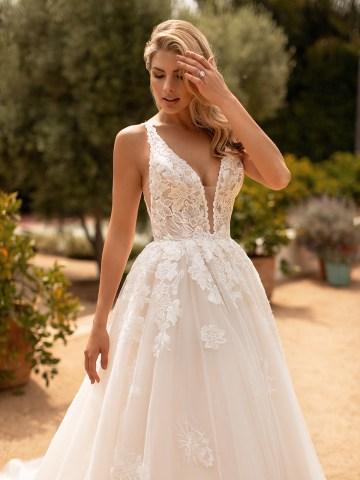 10 Gorgeous Ball Gown Wedding Dresses – Moonlight Bridal – J6778-3QF