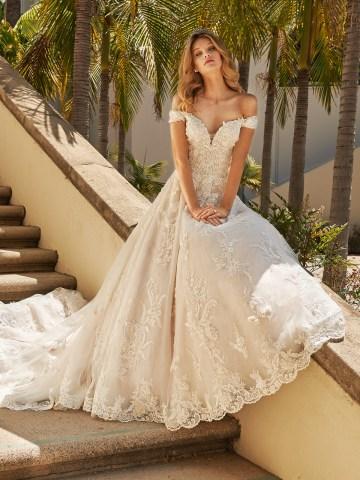 10 Gorgeous Ball Gown Wedding Dresses – Val Stefani – D8230_C