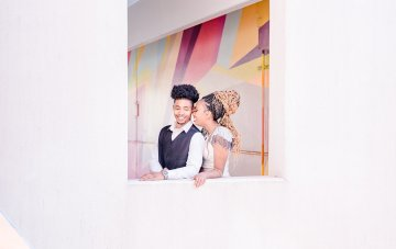 Bright & Colorful Urban Detroit Elopement Inspiration