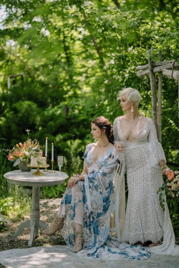 Dreamcatcher Bohemian Wedding Inspiration – Gissell Weddings – Corey Fox Photography – Rue de Seine Bridal 21