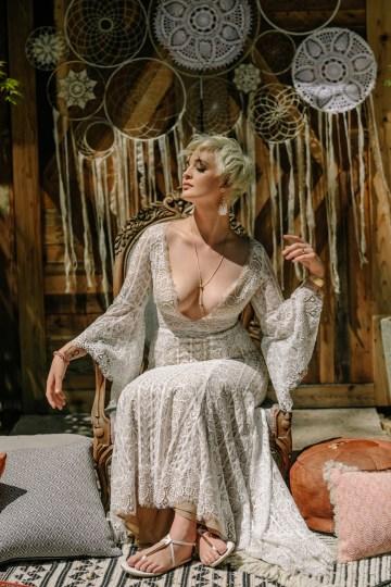 Dreamcatcher Bohemian Wedding Inspiration – Gissell Weddings – Corey Fox Photography – Rue de Seine Bridal 25