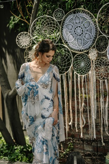 Dreamcatcher Bohemian Wedding Inspiration – Gissell Weddings – Corey Fox Photography – Rue de Seine Bridal 30