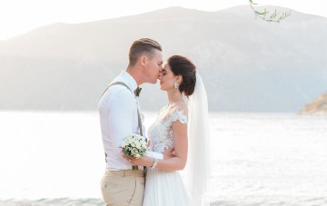 My Grandmother's Island: A South African Couple's Meaningful Wedding In Greece