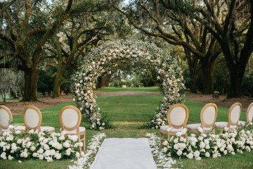 Magical Intimate Southern Wedding Under The Oak Trees – Pure Luxe Bride – Lydia Ruth Photography 2