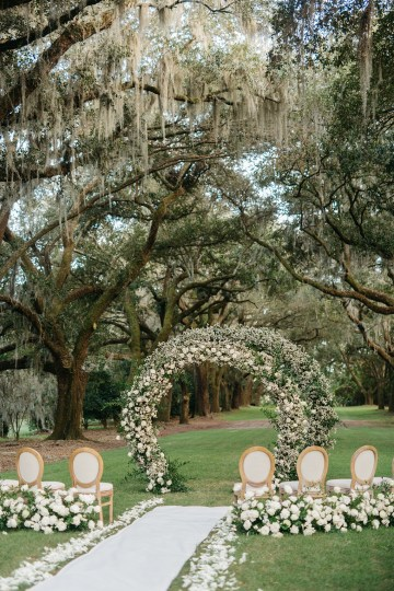 Magical Intimate Southern Wedding Under The Oak Trees – Pure Luxe Bride – Lydia Ruth Photography 33