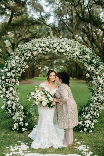 Magical Intimate Southern Wedding Under The Oak Trees – Pure Luxe Bride – Lydia Ruth Photography 40