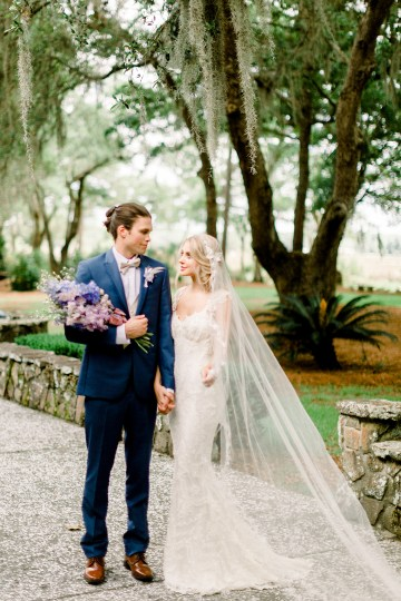 Whimsical Lilac Purple Garden Wedding Inspiration – Danielle Harris Photography 11