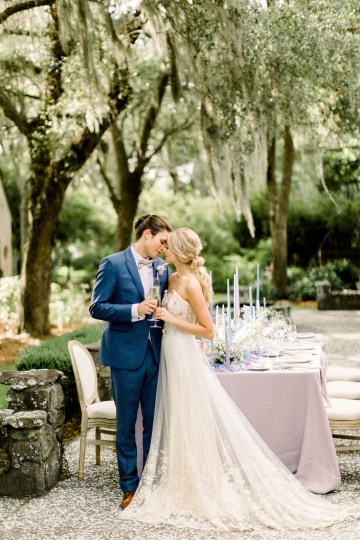 Whimsical Lilac Purple Garden Wedding Inspiration – Danielle Harris Photography 30