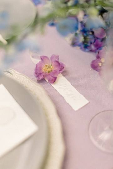 Whimsical Lilac Purple Garden Wedding Inspiration – Danielle Harris Photography 32