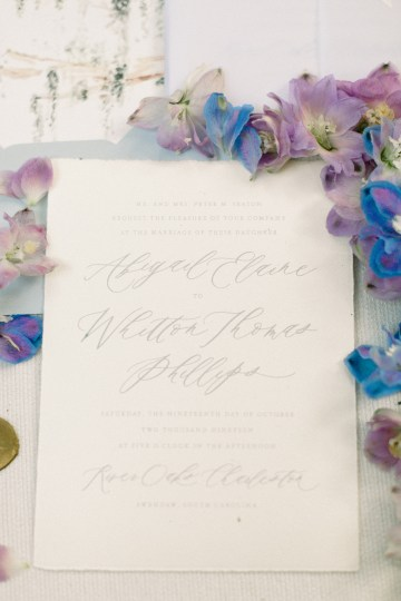 Whimsical Lilac Purple Garden Wedding Inspiration – Danielle Harris Photography 39