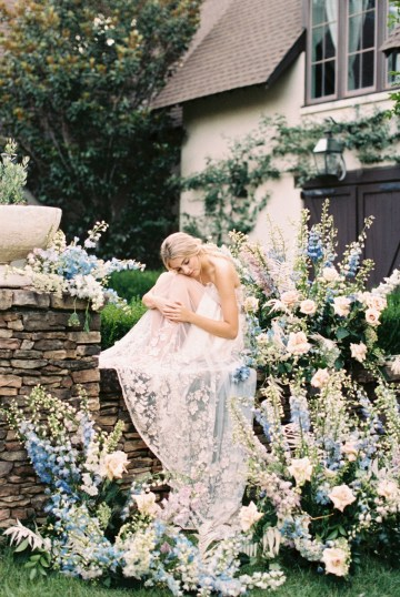 Whimsical Lilac Purple Garden Wedding Inspiration – Danielle Harris Photography 48