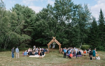The Sweetest Backyard Wedding Featuring Some Impressive DIYs