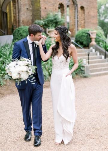 Blue Wedding at Barnsley Gardens Ruins in Georgia – Shauna Veasey 18