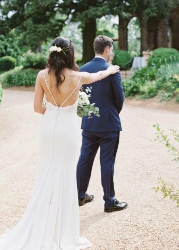 Blue Wedding at Barnsley Gardens Ruins in Georgia – Shauna Veasey 29