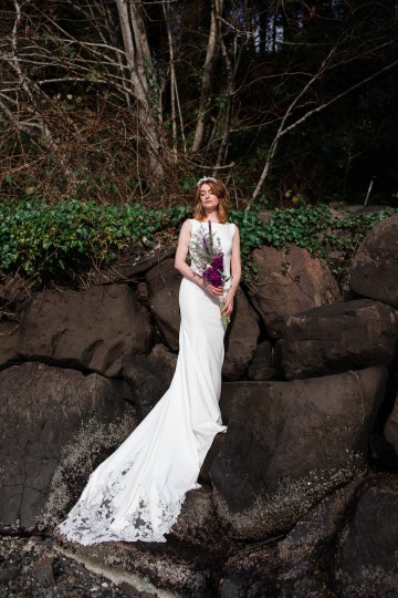 Maggie Sottero Pacific Northwest Beach Wedding Inspiration – Claire Eliza – Bridal Musings 65