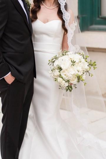 Ornate Jewish Ballroom Wedding with the Brides Grandmothers Wedding Dress – Danielle Harris Photography 18