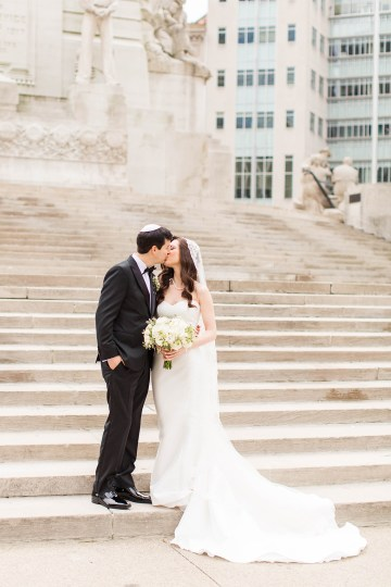 Ornate Jewish Ballroom Wedding with the Brides Grandmothers Wedding Dress – Danielle Harris Photography 24