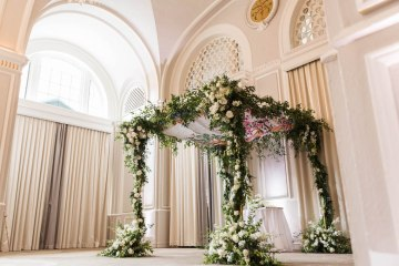Ornate Jewish Ballroom Wedding with the Brides Grandmothers Wedding Dress – Danielle Harris Photography 3