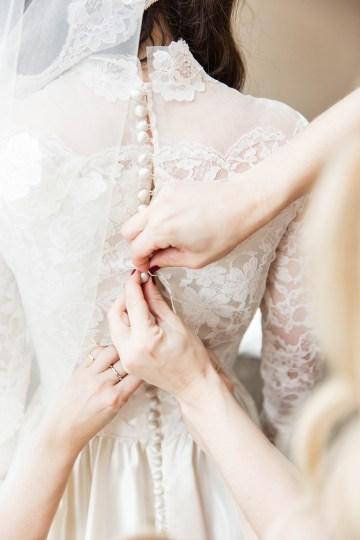 Ornate Jewish Ballroom Wedding with the Brides Grandmothers Wedding Dress – Danielle Harris Photography 37