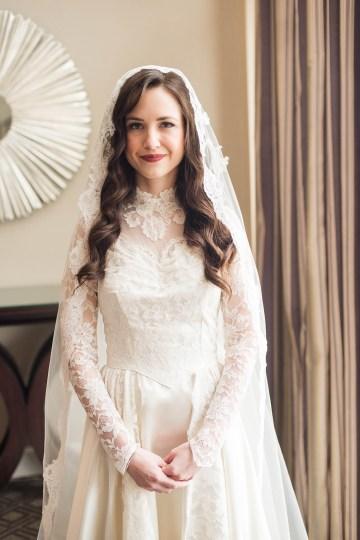 Ornate Jewish Ballroom Wedding with the Brides Grandmothers Wedding Dress – Danielle Harris Photography 41