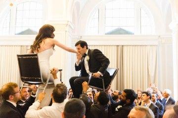 Ornate Jewish Ballroom Wedding with the Brides Grandmothers Wedding Dress – Danielle Harris Photography 6