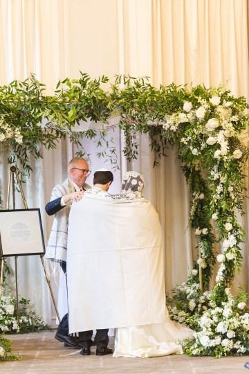 Ornate Jewish Ballroom Wedding with the Brides Grandmothers Wedding Dress – Danielle Harris Photography 62
