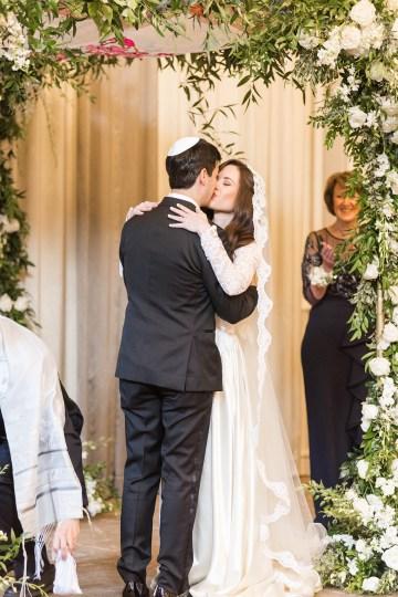 Ornate Jewish Ballroom Wedding with the Brides Grandmothers Wedding Dress – Danielle Harris Photography 66